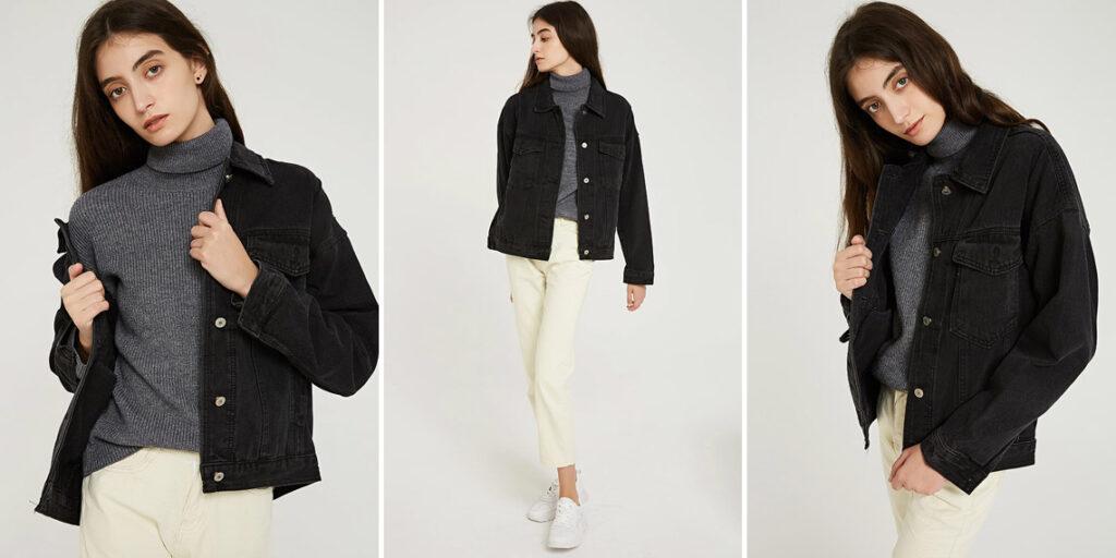 Женская джинсовая куртка Wixra