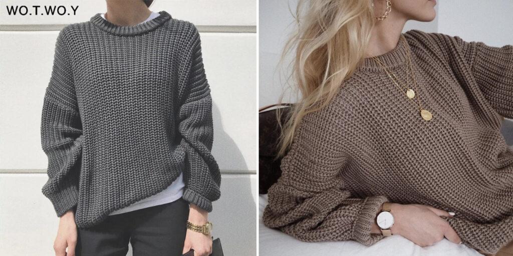 Женский свитер Оверсайз