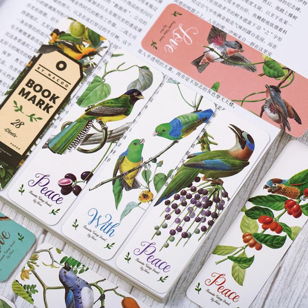 Закладки для книг - птицы