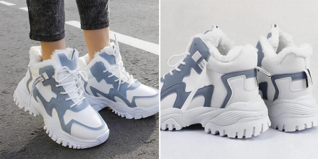 5 женские зимние кроссовки
