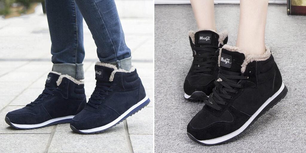 6 женские зимние кроссовки