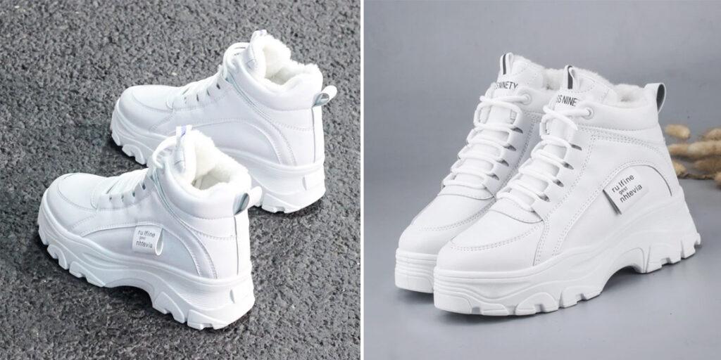 8 женские зимние кроссовки