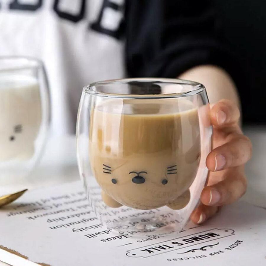 Чашка мишка