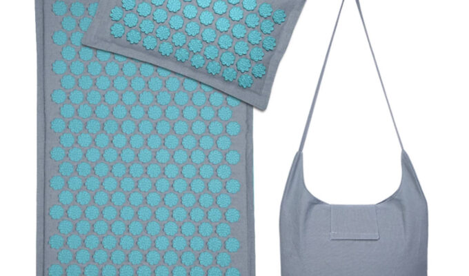 Коврик сумка и подушка для массажа