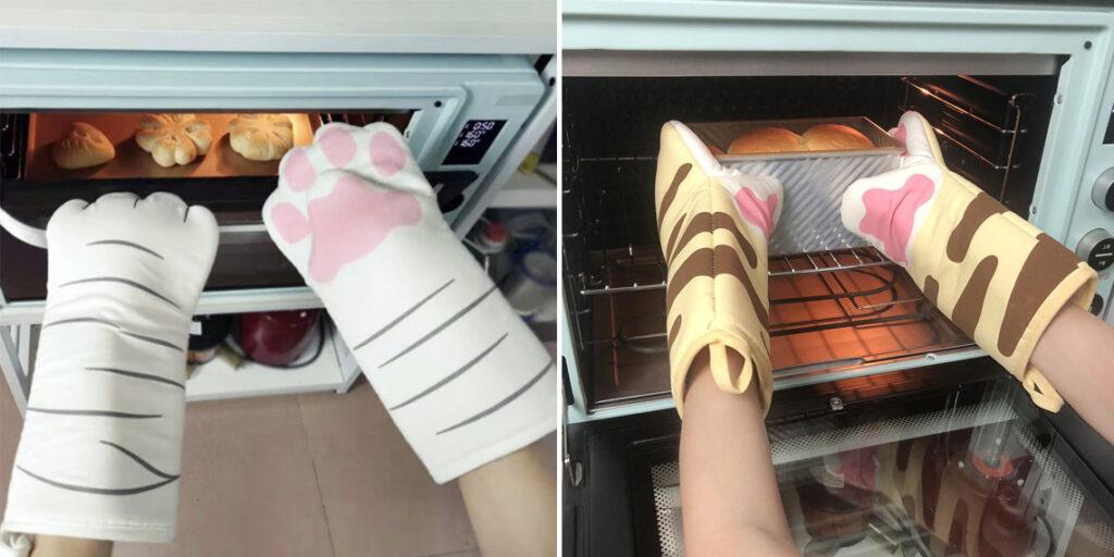 Варежки для духовки