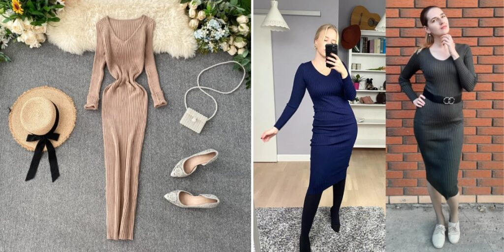 Платье-лапша весна 2021