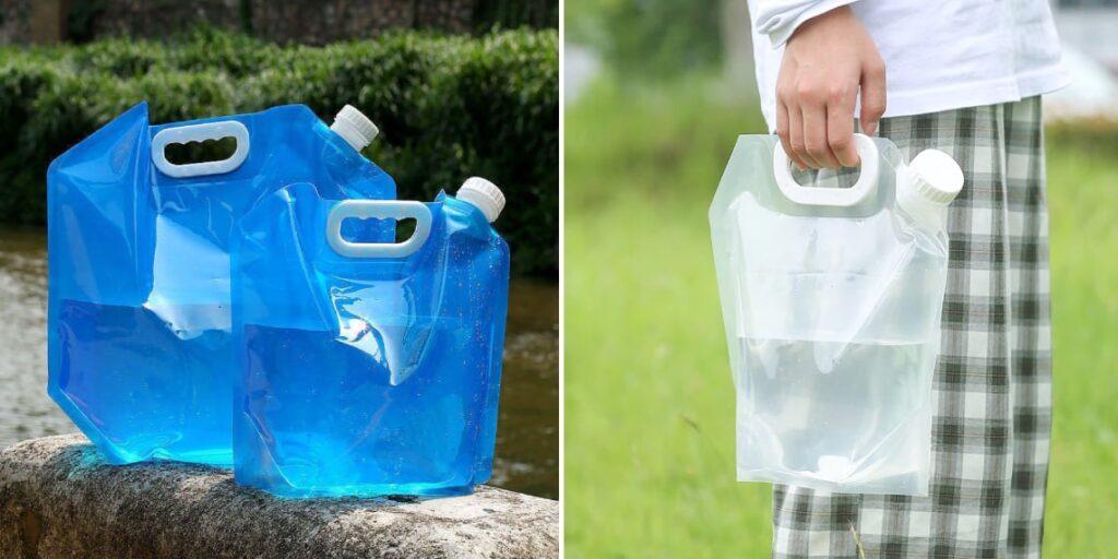 Портативная пластиковая канистра