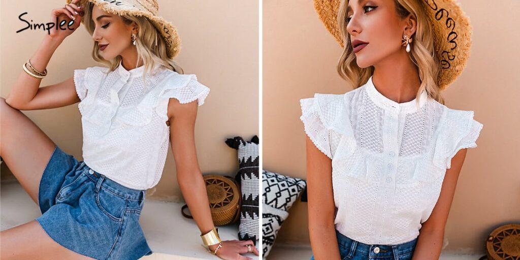 Кружевная блузка Semplee
