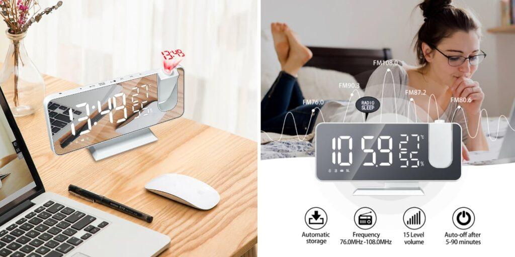 Цифровые часы-будильник